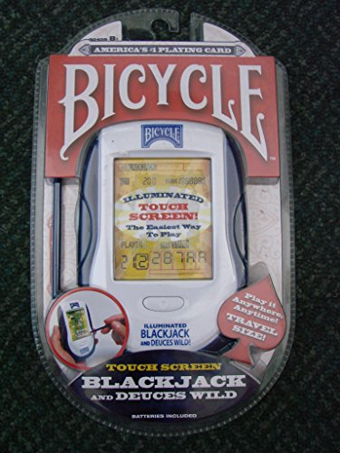 Bicycle Illuminated Touch Screen Blackjack and Deuces Wild Blackjack Touch Screen