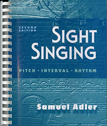 Sight Singing: Pitch, Interval, Rhythm (Second ()