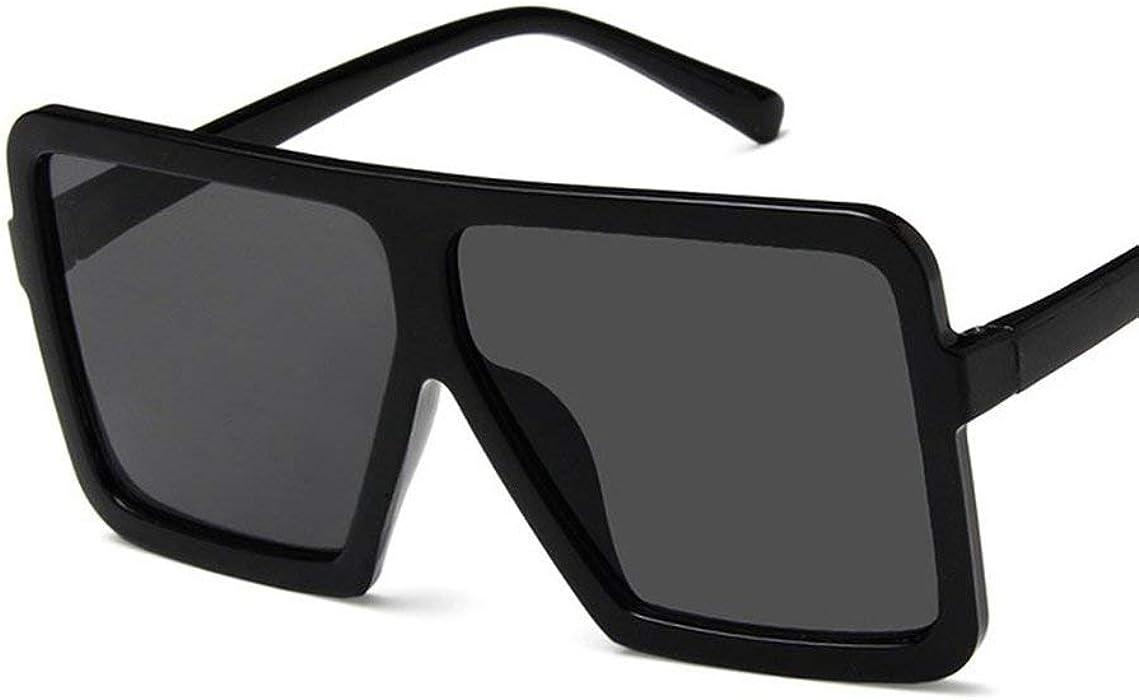 2e3efbfa5c09 Fashion Big Square Shape Women Men Sunglasses UV400 Eyewear Sunglasses Hip  Hop All-match Sun Glasses PC Frame Resin Lens. Back. Double-tap to zoom