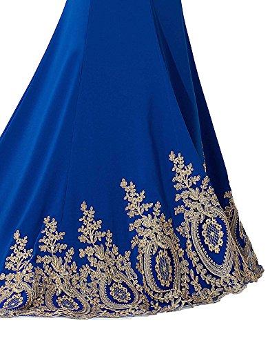 Babyonline–Vestido para mujer azul real