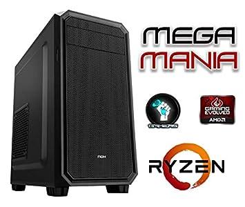 Megamania PC Ordenador SOBREMESA AMD Ryzen up to 3,70Ghz x4 | 32GB ...