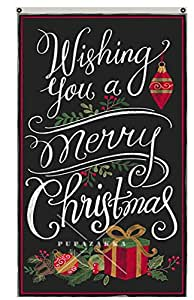Flylife Large Flag Merry Christmas banner 3'x5' outdoor Flag 111211