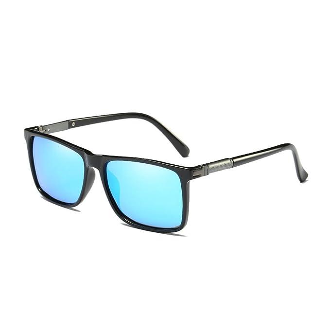 Gafas de sol de los hombres polarizados marco de magnesio de aluminio conducción gafas de sol UV400 gafas de luz: Amazon.es: Ropa y accesorios