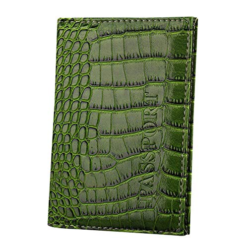 YJYdada Dedicated Nice Travel Passport Case ID Card Cover Holder Protector Organizer (Green) ()