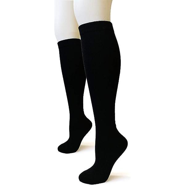 1pairs Mongolia Pure Cashmere Women Men Knee High Casual Socks