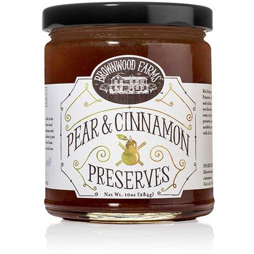Pear & Cinnamon Preserves by Brownwood Farms (10 ounce)