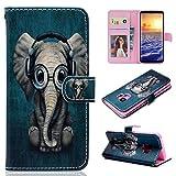 Galaxy S9 Plus Case, Wallet Flip Folio Case