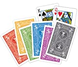 Baron Barclay Bicycle Bridge Playing Cards - 12 Decks (1 Dozen) in 6 Exclusive Colors - Plastic Coated