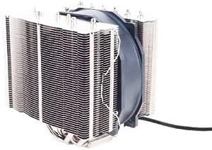 Silverstone Tek Heligon CPU Cooler for Intel Socket LGA775/LGA1155/LGA1156/LGA1366/LGA2011 and AMD Socket AM2/AM3/FM1/FM2, Silver (HE01)