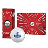 CollegeFanGear OLLU Callaway Chrome Soft Golf Balls 12/pkg 'Our Lady of the Lake University Athletics - Offical Logo'