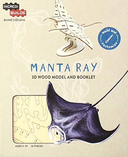 IncrediBuilds Animal Collection: Manta ()