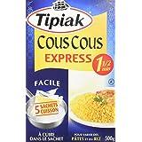 TIPIAK Couscous Express, 5 Bags, 500g
