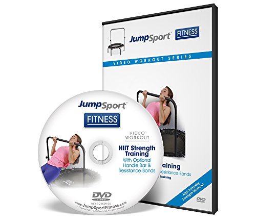 JumpSport HIIT Strength Training With Optional Handle Bar & Resistance Bands Workout DVD