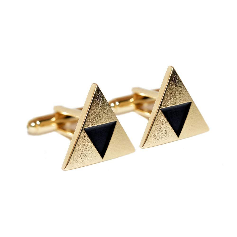 Legend of Zelda Triforce Cufflinks Cuff Links Business Wedding Groomsmen Gifts