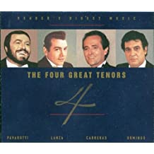 Readers Digest Music the Four Great Tenors
