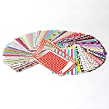 """Zink Colorful, Fun & Decorative Photo Border Stickers For HP Sprocket, LG, Prynt, LifePrint 2x3"""" Photo Paper - Pack of 100"""