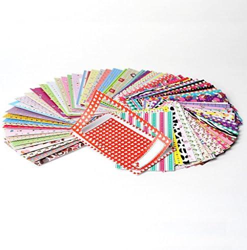 3 Couleurs avec 30 Clips en Bois et 3 Cordes de Chanvre YOTINO 30 pcs Cadre Photo en Papier Kraft pour Photos comme D/écoration Murale