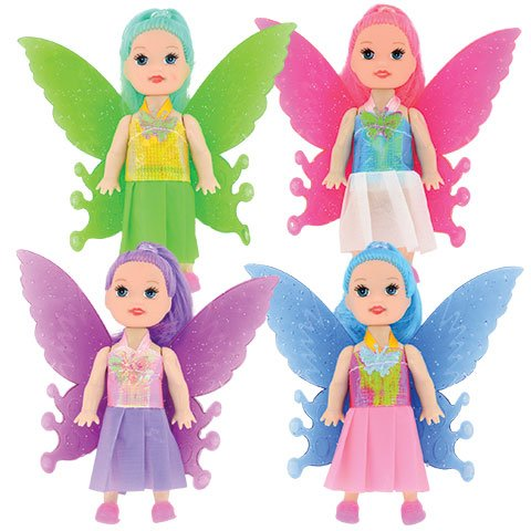 Homemade Butterfly Costumes Toddler (Magical Tinkerbelle Inspired Fairy Princess Outfit with Jeweled Accents Butterfly Shaped Wings 4 Girl Dolls)