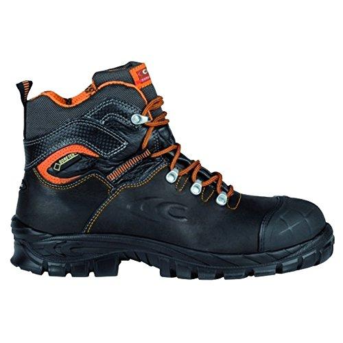 "Cofra 13030––000.w44Talla 44S3WR Src–Zapatillas de seguridad ""galarr–Negro/Naranja"