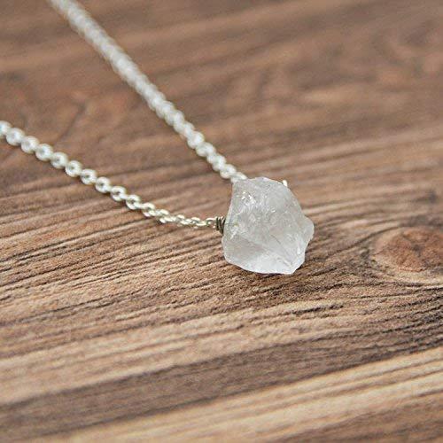 Solar Plexus Chakra Stone Energy Necklace CO18 Karelian Heritage Evil Eye Aura Quartz Necklace on a Chain