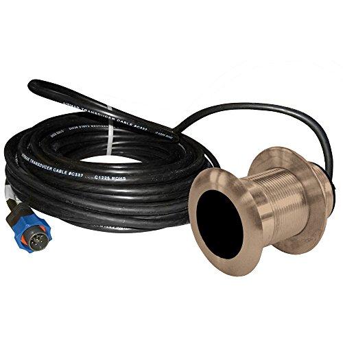 Connector Blue Temp (Lowrance B117 0° 50/200kHz Thru-Hull Depth/Temp w/Blue Connector - 600W)