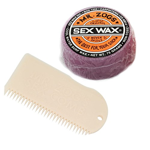 Sex Wax Cool Bar Purple with Comb (Choose Color) (White - Buy Europe Online Sunglasses