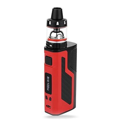 Cigarrillo Electrónico, TC (Modo de Control de Temperatura) BOX MOD 2200mAh, Atomizador para Tanque Sub Ohm 3 ml, Resistencia Integrada de Batería de 0.3ohm ...