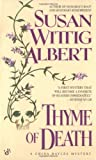 Thyme of Death (China Bayles 1)