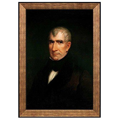 Portrait of William Henry Harrison by James Reid Lambdin (9th President of the United States) American Presidents Series Framed Art Print