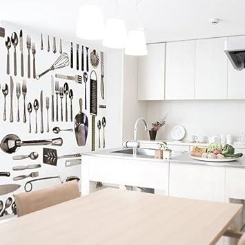 Beautiful Carta Parati Cucina Photos - Home Interior Ideas ...