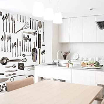 Emejing Carta Da Parati Da Cucina Images - Ideas & Design 2017 ...