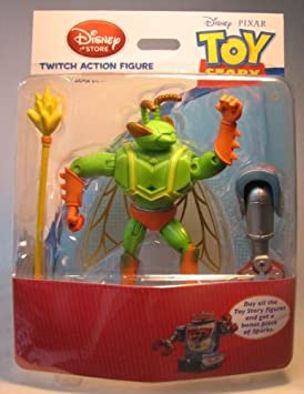 Toy Story Twitch Action Figure with Build Sparks Part by ...