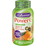 Health & Personal Care : Vitafusion Power C Gummy Vitamins, 150 Count Vitamin C Gummies (Packaging May Vary), Absolutely Orange