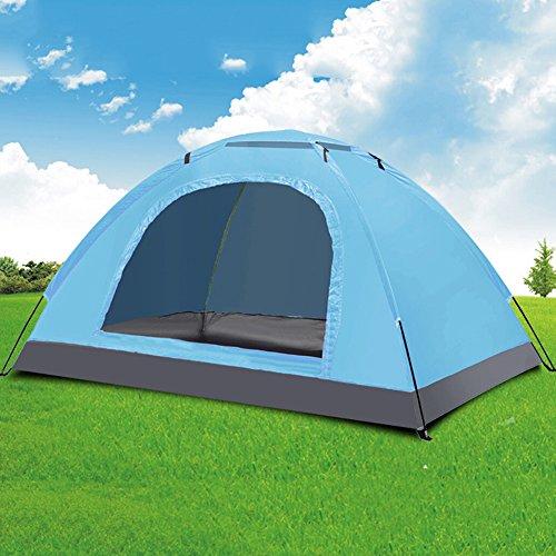 周り音賃金Sund テント 2人用 キャンプ アウトドア 200 * 150 * 110cm 防水 防風 通気性 紫外線防止 折りたたみ キャンプツーリング/ビーチ/登山/遠足/ピクニック/防災 収納バッグ付き 収納簡単 選べる3タイプ タイプC