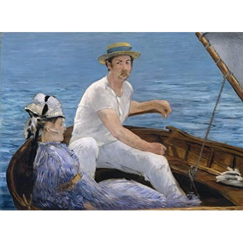 Grafika Puzzle 2000 pièces - Edouard Manet : En Bateau, 1874