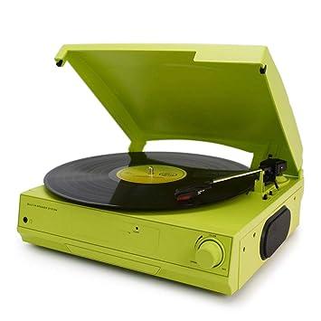 JJSSGGJJLLSSJJ Tocadiscos 33/45/78 RPM Vinyl LP Record Pl Ayer ...