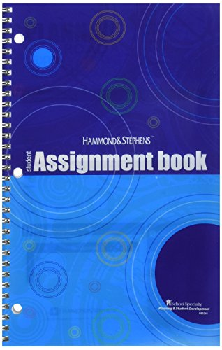 Hammond and Stephens 803241 Student Edition Daily Agenda Planner, Book Stock, 7