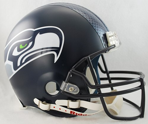 NFL Seattle Seahawks VSR4 Authentic Helmet by Riddell