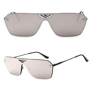 SenDi Gafas de sol-Gafas de sol de moda con lentes de un ...