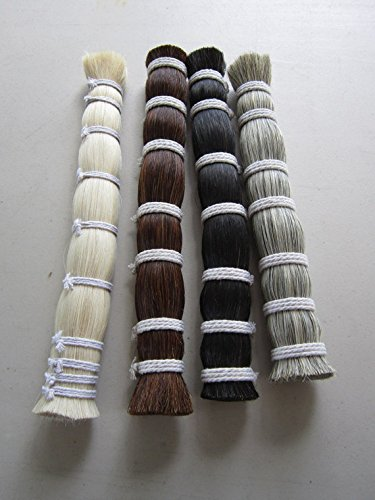 1/8 Pound Black Horsehair Bundle Crafts Native Crafts