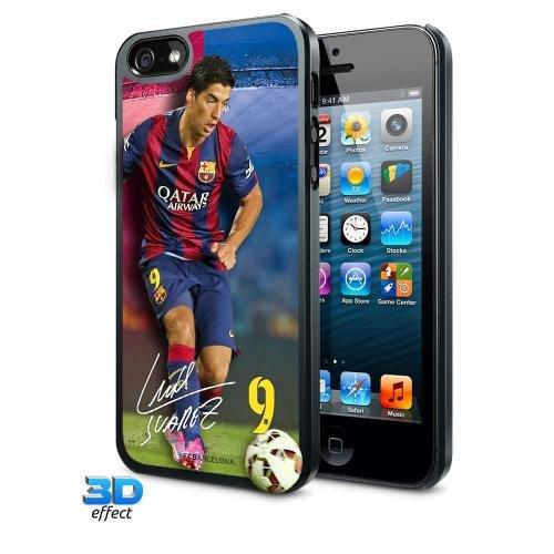 iPhone 5/5S Hard Case - F.C Barcelona (Suarez - 3D)