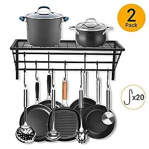 Amazon.com: Estantería para ollas de cocina.: Beauty