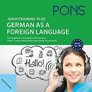 Audiotraining Plus - German as a foreign language Audiobook