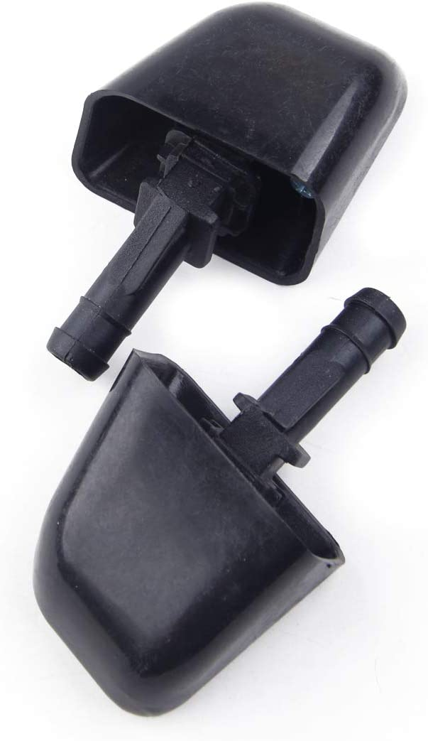 beler 2pcs Left /& Right Headlight Headlamp Washer Jet Nozzle Sprayer