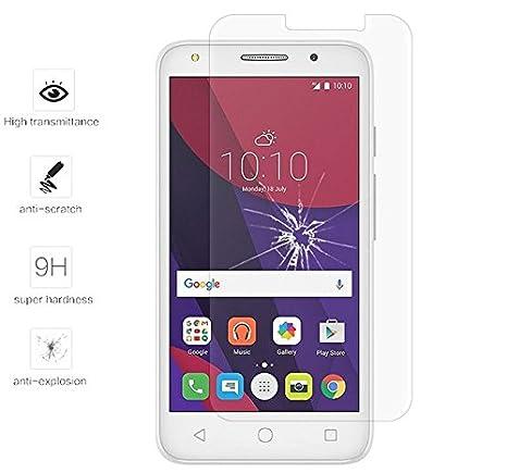 Tumundosmartphone Protector Pantalla Cristal Templado para Orange Rise 51/ALCATEL PIXI 4 (5) 4G/VODAFONE Smart Turbo 7 Vidrio: Amazon.es: Electrónica