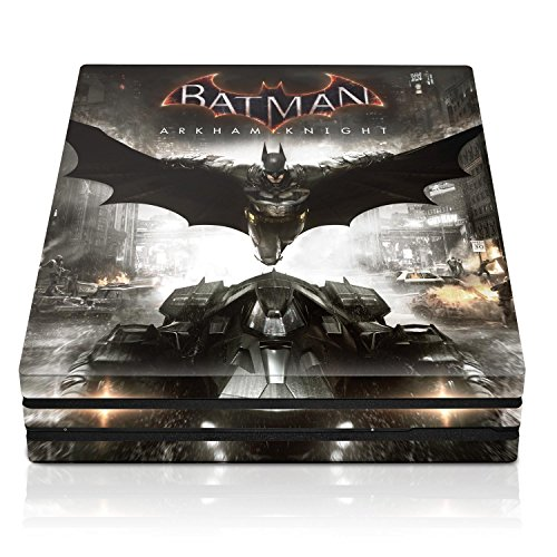 "Controller Gear Batman Arkham Knight ""Batmans Flight"" - PS4 Pro Console Skin - Officially Licensed by Warner Bros - PlayStation 4"