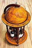 Bar Cabinets Globe Bar Liquor Cabinet  18.5