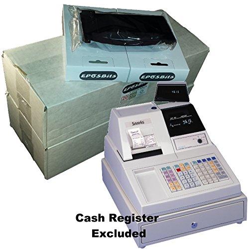 eposbits® Pack de accesorios de marca * * * * A Fit Sam4s er-4615ER4615caja registradora (36rollos + 2de tinta)