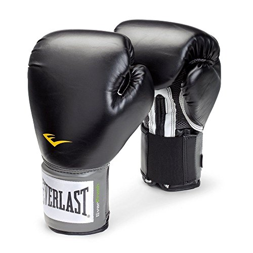 Everlast Pro Style Boxing Training Gloves Free Combat Fighting Gloves, for Those who Love The Sport of Boxing, Sizes for Men and Women to Choose from 8-16oz. (Black, 16 oz) (Everlast Lifting Gloves)