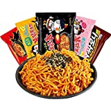Samyang, Hot Chicken Ramen, 140g*5 packets, 5 kinds of taste: Double Spicy *1, cheese*1, Fired Bean sauce*1, Hot Chicken…